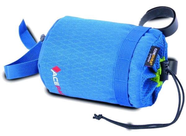 Сумка под флягу Acepac FAT BIKE BOTTLE BAG blue ACPC 1113.BLU