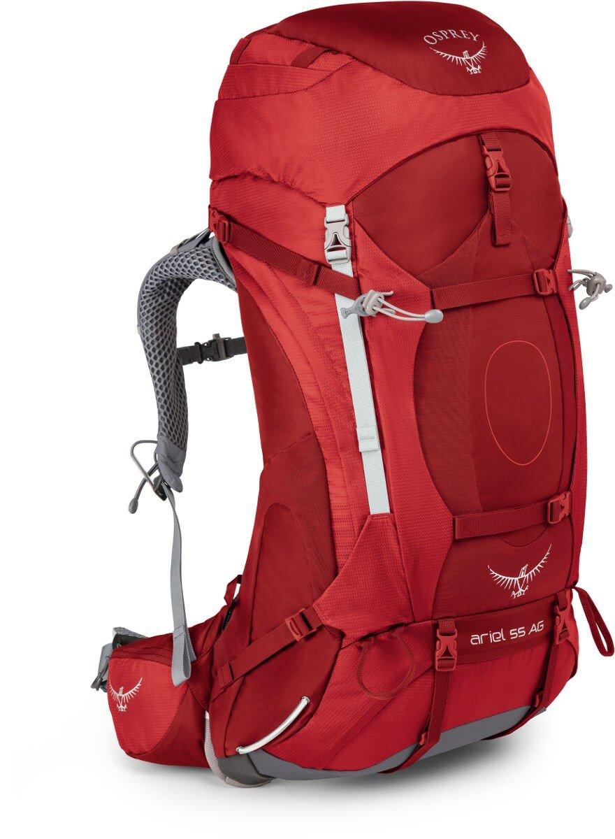 c140c59e15f2 Рюкзак Osprey Ariel AG 55 Picante Red Красный 009.1527 - отзывы ...