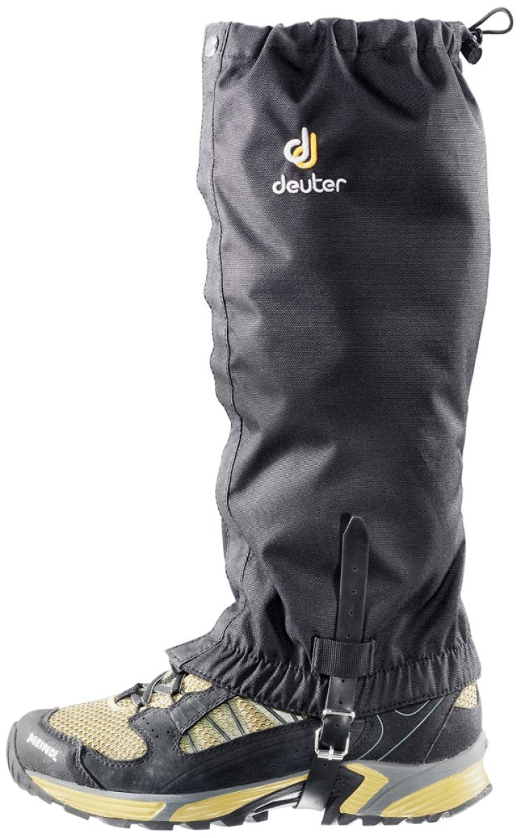 Бахилы Deuter Boulder Gaiter Long цвет 7000 black 39792 7000