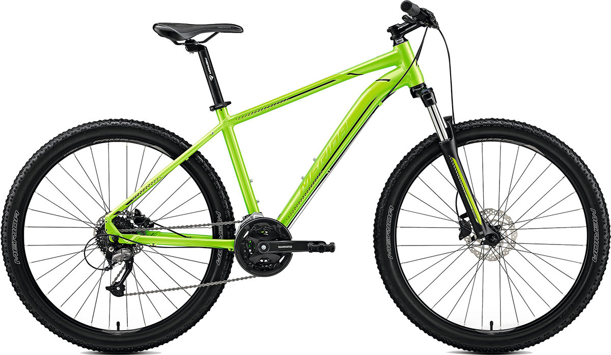 Велосипед Merida BIG.SEVEN 40-D 27.5 lite green black 6110793577 6110793588 6110793599