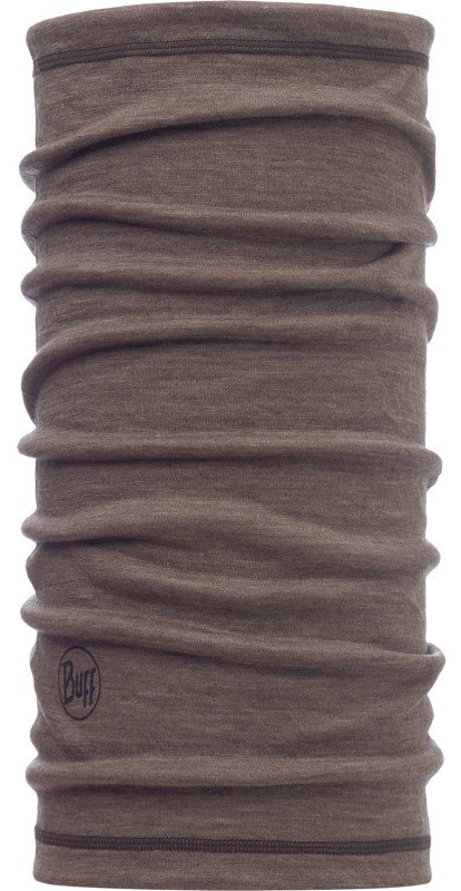 Бандана BUFF 3/4 LIGHTWEIGHT MERINO WOOL walnut brown BU 117064.327.10.00