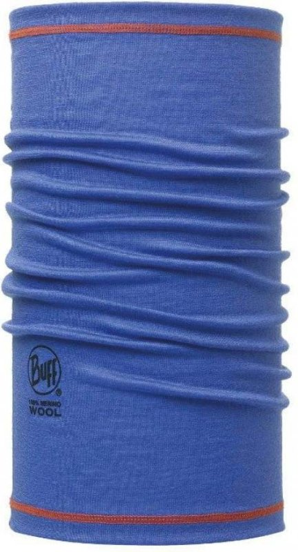 Бандана BUFF 3/4 MERINO WOOL solid blue ink BU 111628.752.10.00