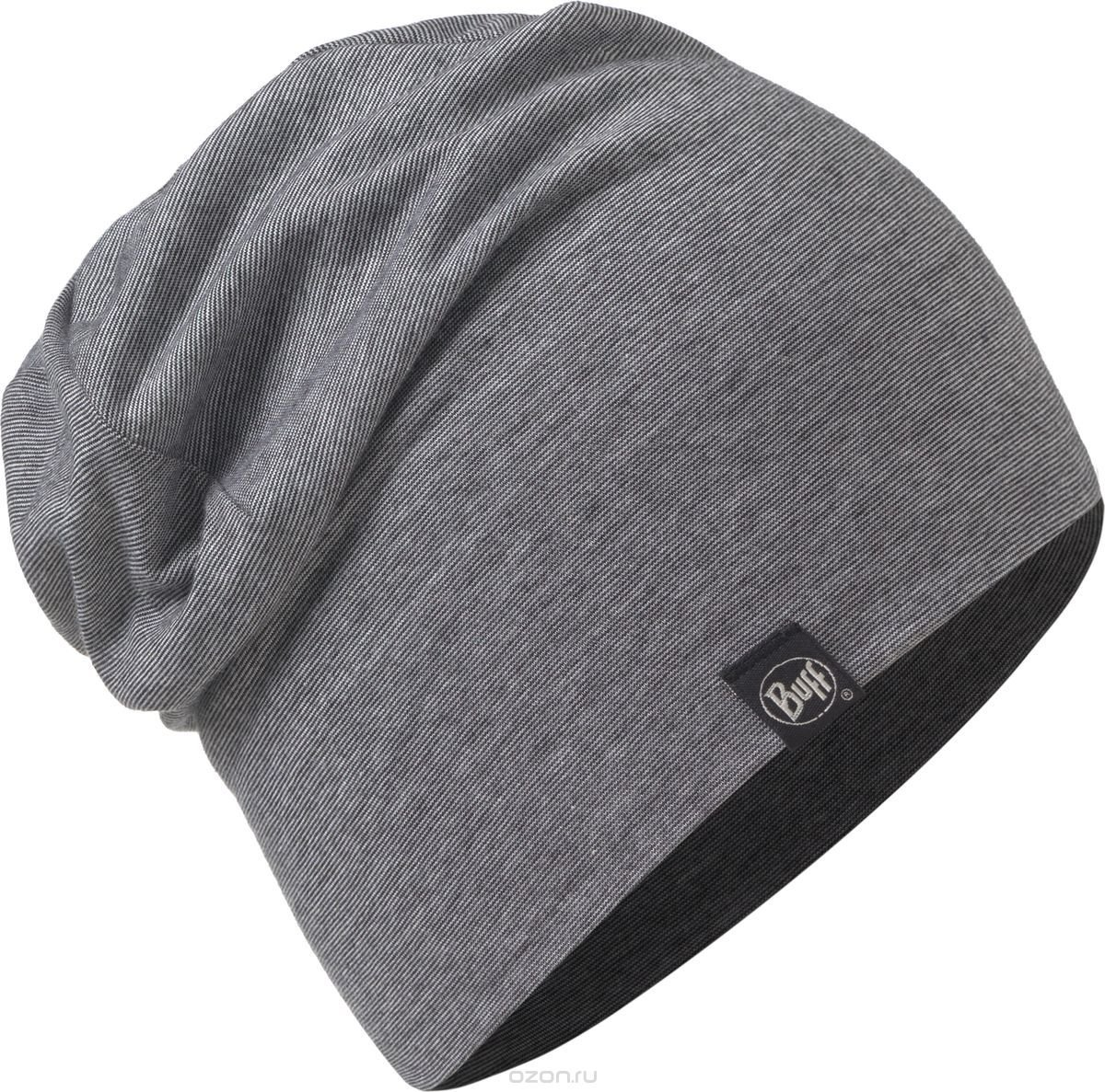Шапка Buff COTTON HAT grey stripes BU 117113.937.10.00