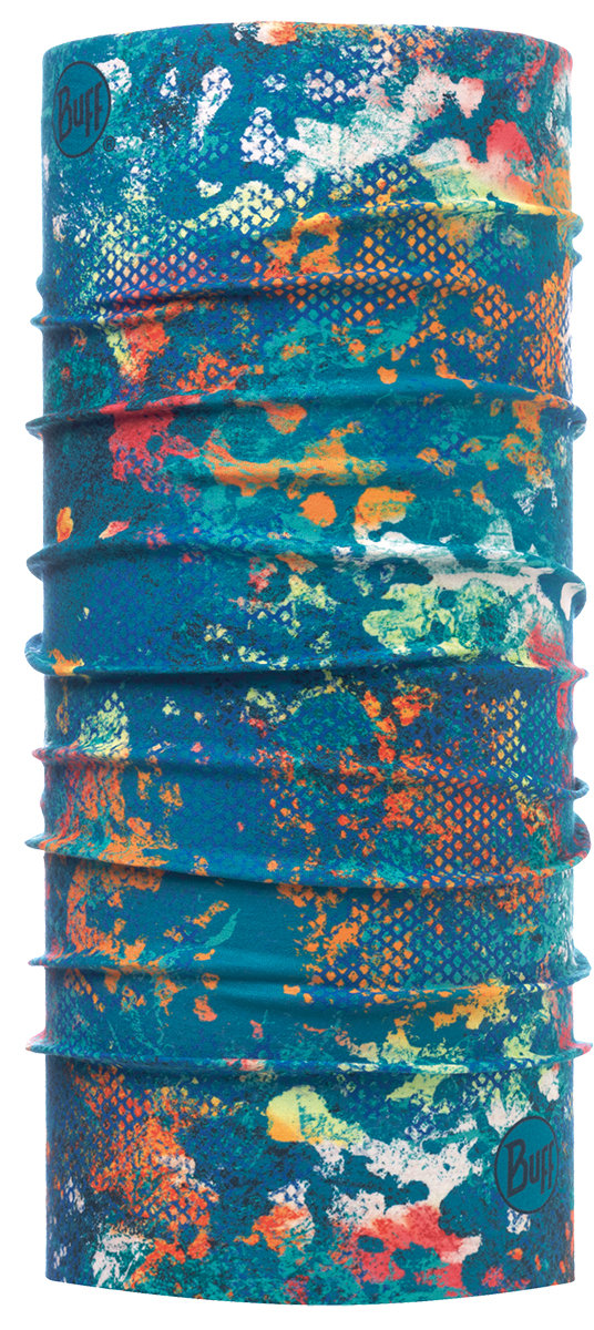 Бандана BUFF  HIGH UV aquatic camo turquoise BU 117012.789.10.00
