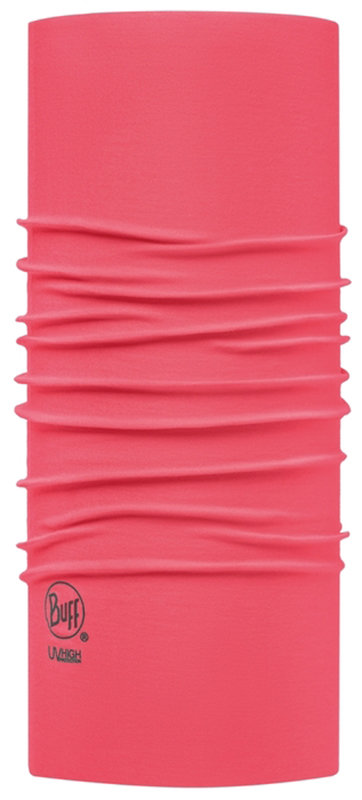 Бандана BUFF HIGH UV solid raspberry pink BU 111426.542.10.00