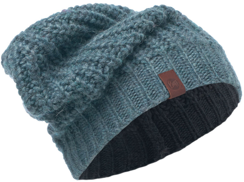 Шапка BUFF KNITED HAT GRIBLING steel blue BU 2006.701.10