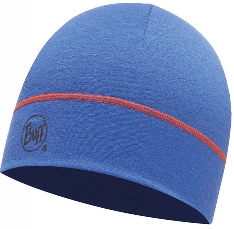 Шапка BUFF MERINO WOOL 1 LAYER HAT solid blue ink