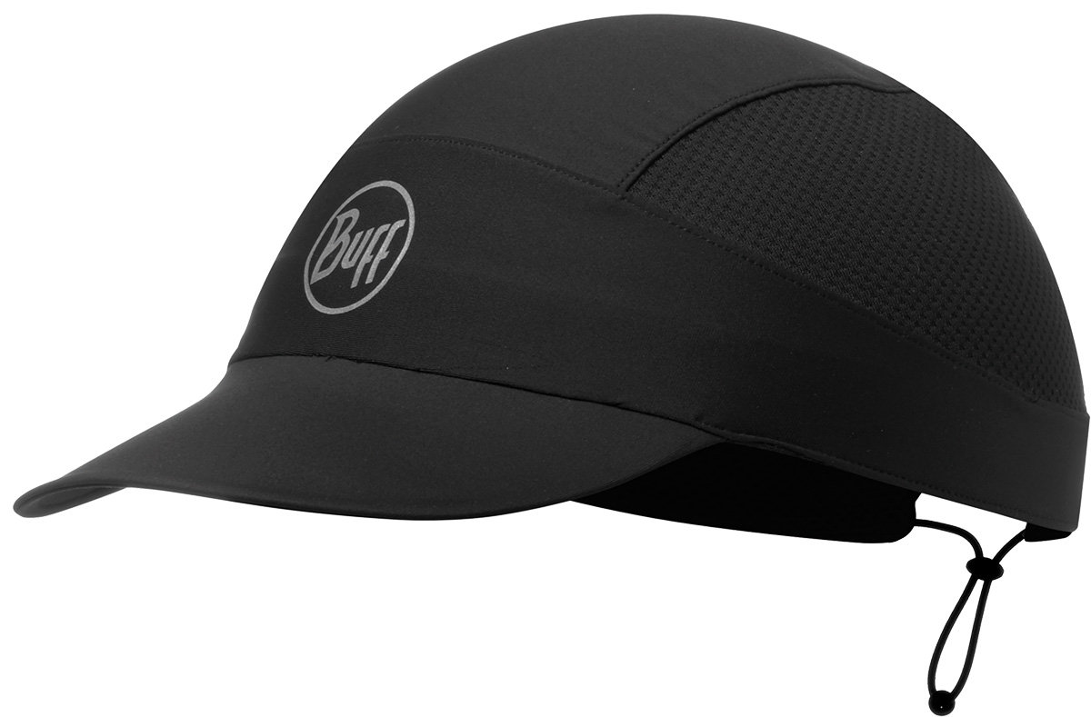 Кепка Buff PACK RUN CAP r-solid blck BU 113702.999.10.00