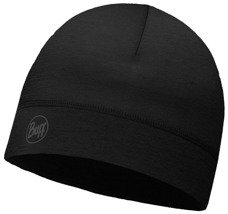 Шапка BUFF THERMONET HAT solid black BU 115346.999.10.00