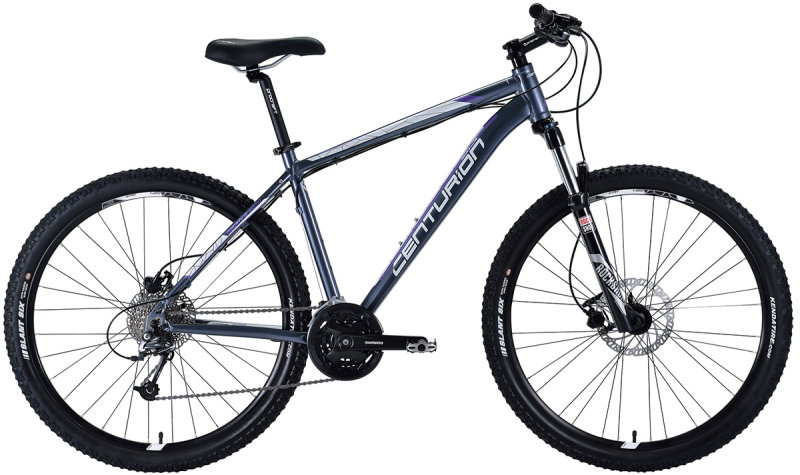 Велосипед Centurion BACKFIRE N8-HD 27.5 royal grey C18-BF-N8HD-36CM-RG