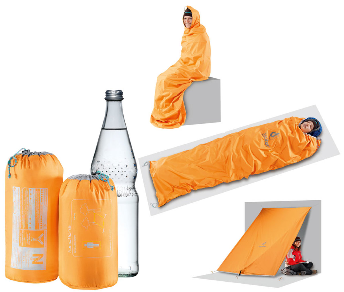 Чехол Deuter Shelter II цвет 9001 carrot 39591 9001
