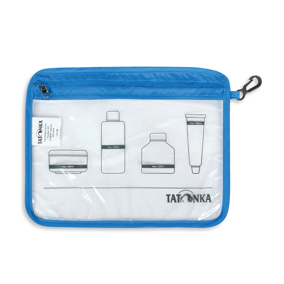 Чехол Tatonka Zip Flight Bag А5 Transparent TAT 3135.325