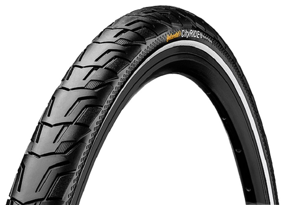 Покрышка Continental RIDE City 28x1 3/8x1 5/8, Extra Puncture Belt, Reflex