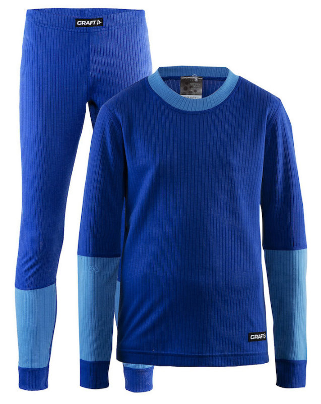 Термобелье Craft BASELAYER SET J soul melange-ray 1905355-386355-110/116 1905355-386355-122/128 1905355-386355-146/152