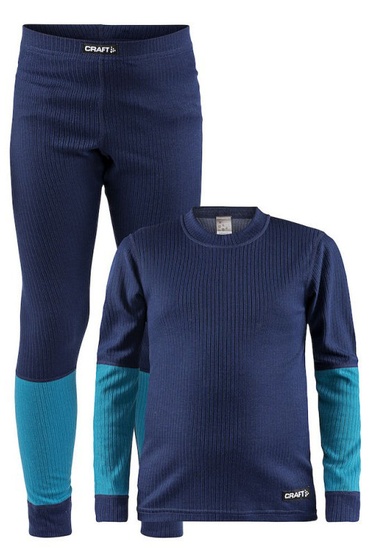 Термобелье Craft BASELAYER SET J maritime-zen 7318572925533 7318572960183