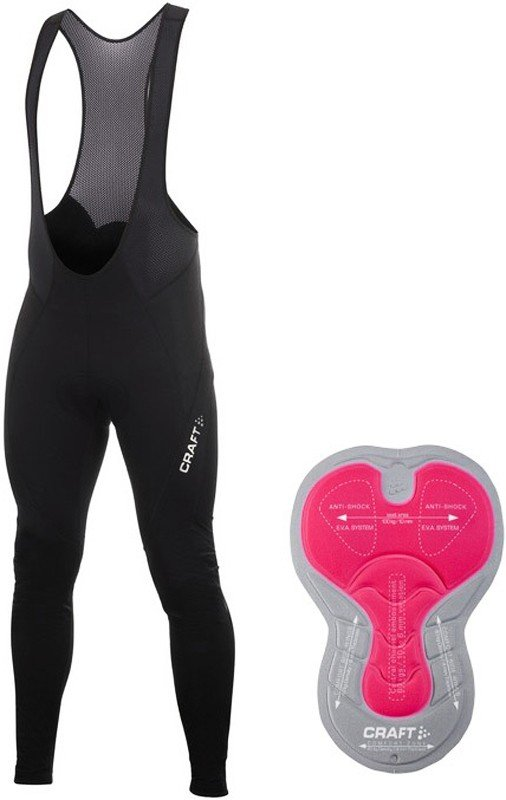 Велорейтузы c лямками Craft PB STORMBIB TIGHTS M