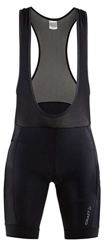 Велошорты с лямками Craft RISE BIB SHORTS black