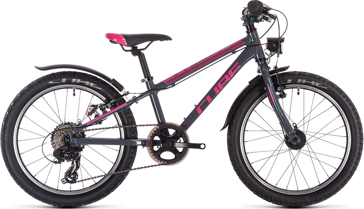 Велосипед Cube ACCESS 200 ALLROAD grey-blue-pink