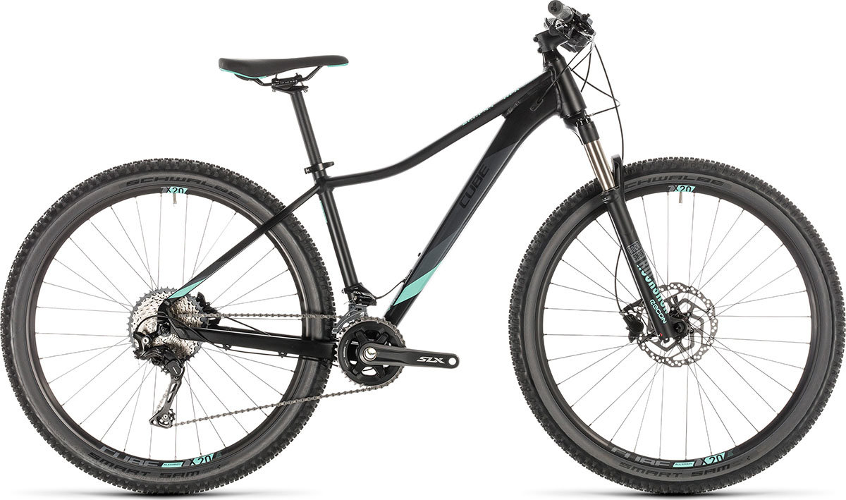 Велосипед Cube ACCESS WS SL 27.5 black-mint 225600-16