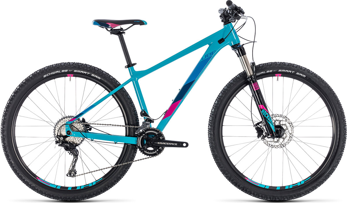 Велосипед Cube ACCESS WS RACE SL 29 blue-raspberry