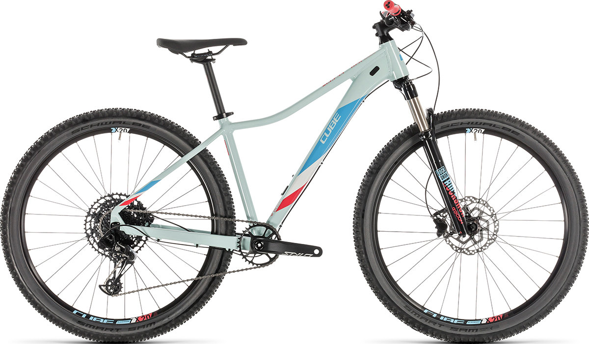Велосипед Cube ACCESS WS EAGLE 29 lightblue-coral