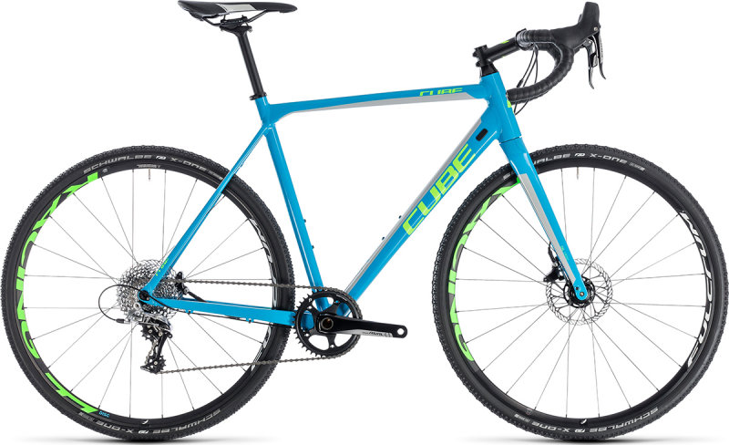 Велосипед Cube CROSS RACE SL blue-green 188300-56