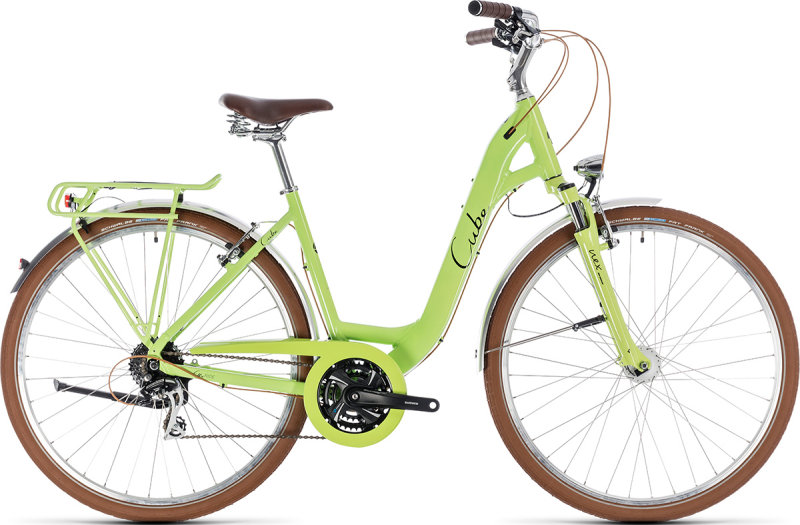 Велосипед Cube ELLY RIDE green-black