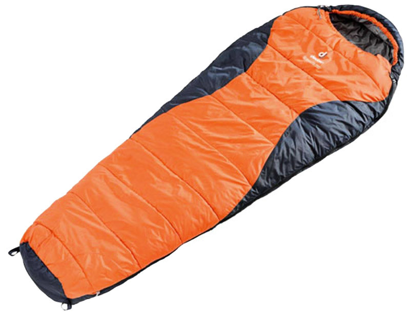 Спальник Deuter DREAM LITE 400 right sun orange-midnight 49328 8830 0