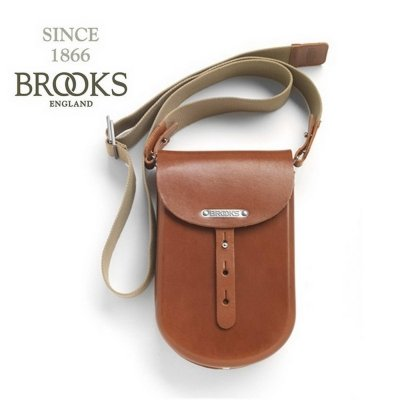 Сумка BROOKS B1 Small honey на плече 009598