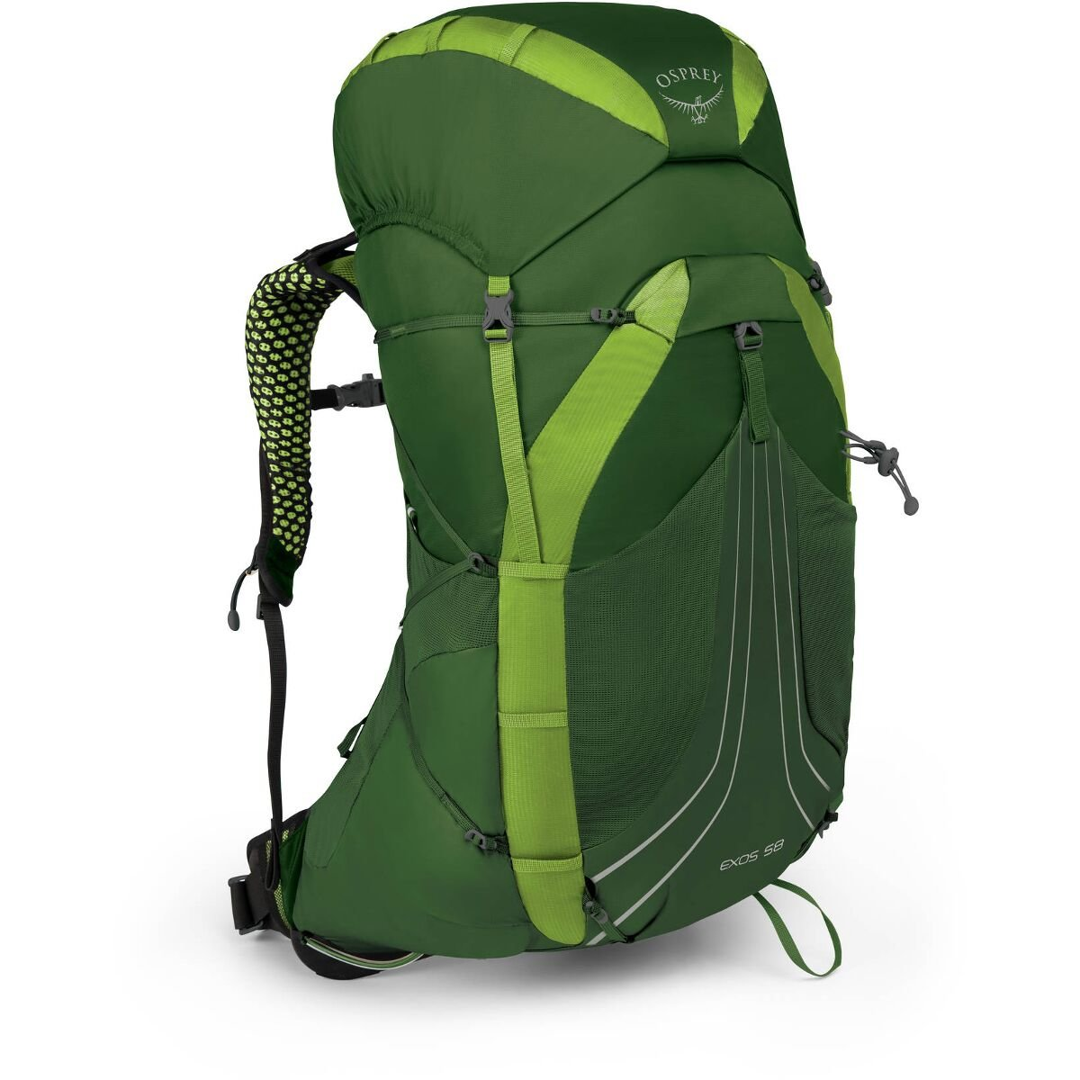 Рюкзак Osprey Exos 58 Tunnel Green 009.1737
