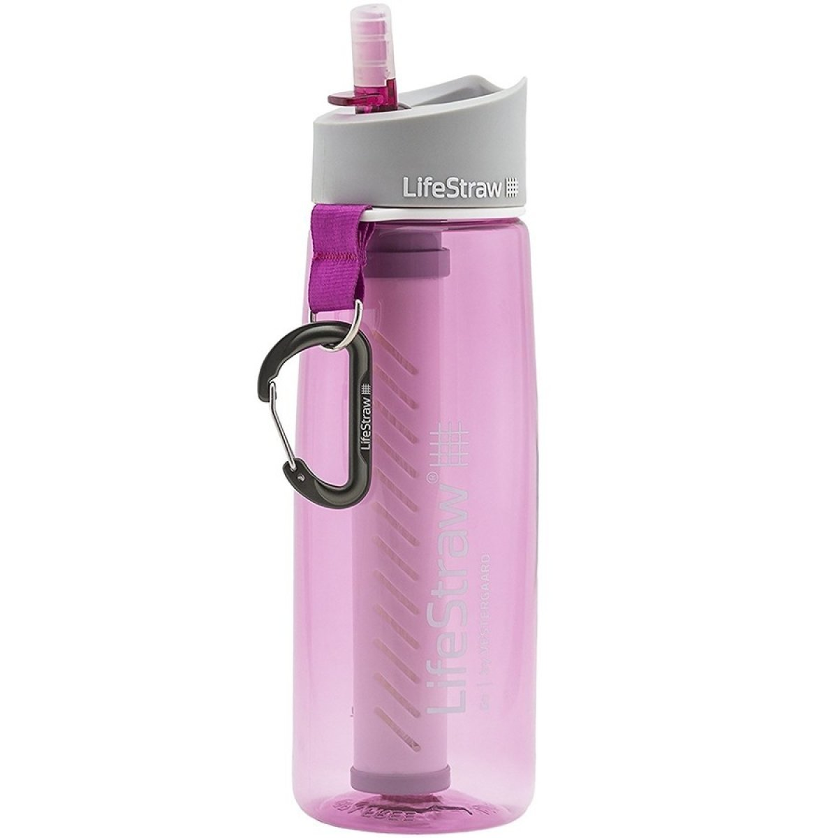 Фляга LifeStraw Go 2-stage pink 8421210114