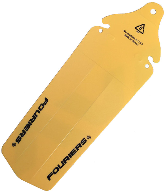 Велосипедное заднее крыло Fouriers MG002 yellow AC-MG002-R115