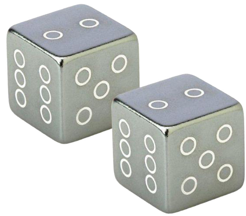 Колпачки Fouriers US001 CUBE grey VL-US001-005