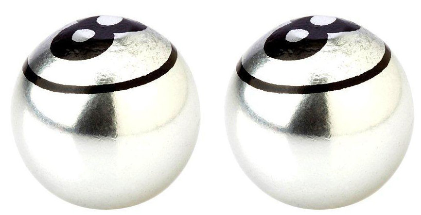 Колпачки Fouriers US002 BALL silver VL-US002-002