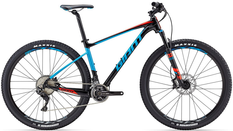 Велосипед Giant FATHOM 0 29 black-blue 71637626, 71637625