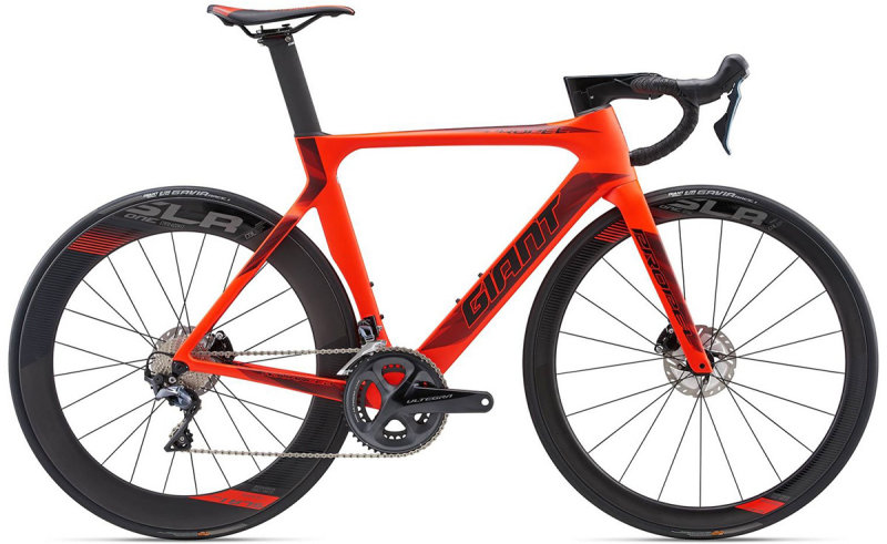 Велосипед Giant PROPEL ADVANCED DISC neon red 80007414 80007415