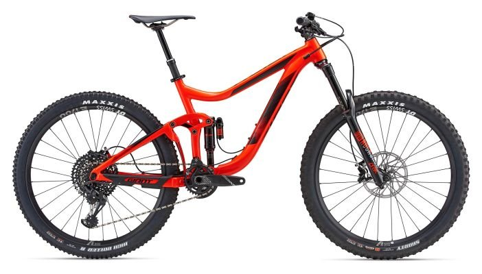 Велосипед Giant REIGN 1 27,5 neon red