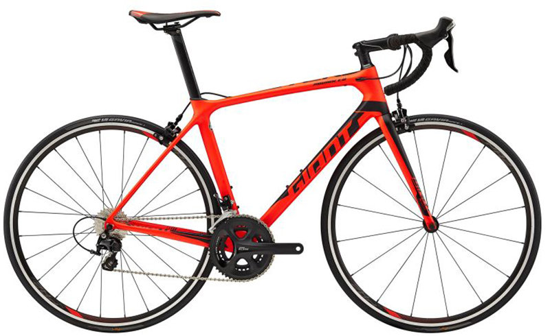 Велосипед Giant TCR ADVANCED 2 neon red