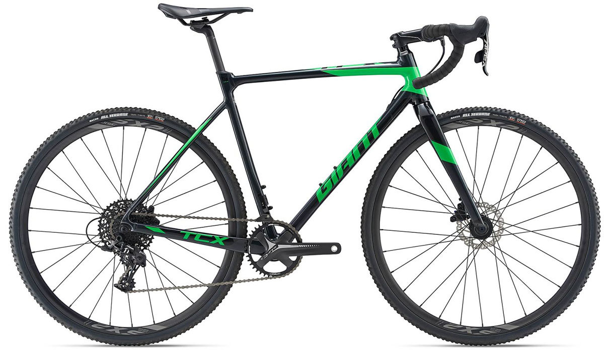 Велосипед Giant TCX SLR 2 metal black 90051814 90051815 90051816