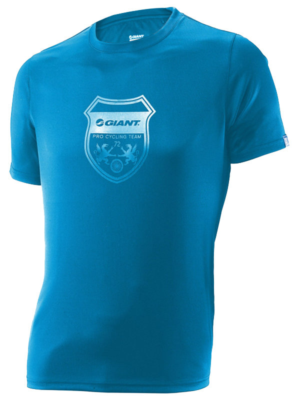 Футболка Giant TEAM CREST TECH blue GA850000448 GA850000449 GA850000450