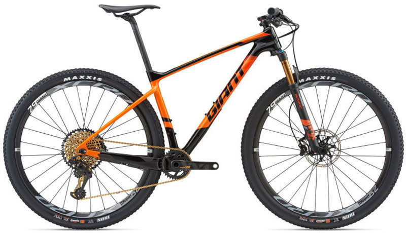 Велосипед Giant XTC ADVANCED 0 29 composite-orange