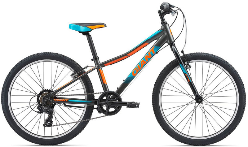 Велосипед Giant XTC JR 24 LITE charcoal-orange