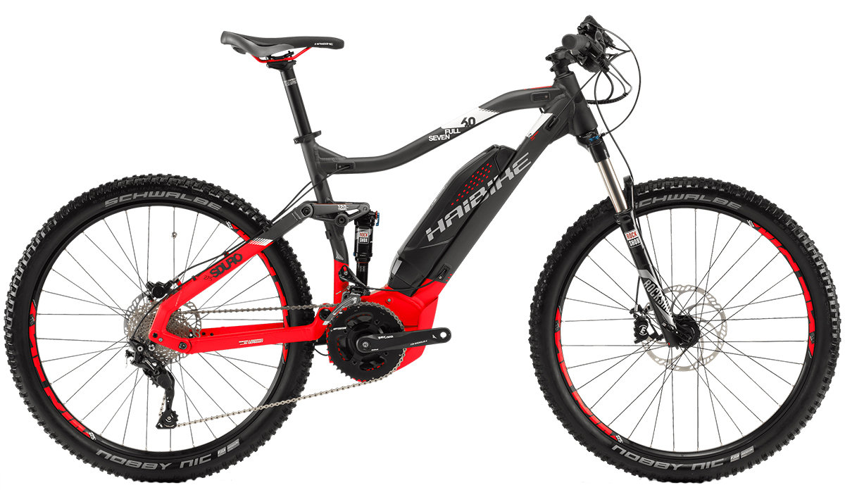 Велосипед Haibike SDURO FULLSEVEN 6.0 27,5 anthracite-red-white
