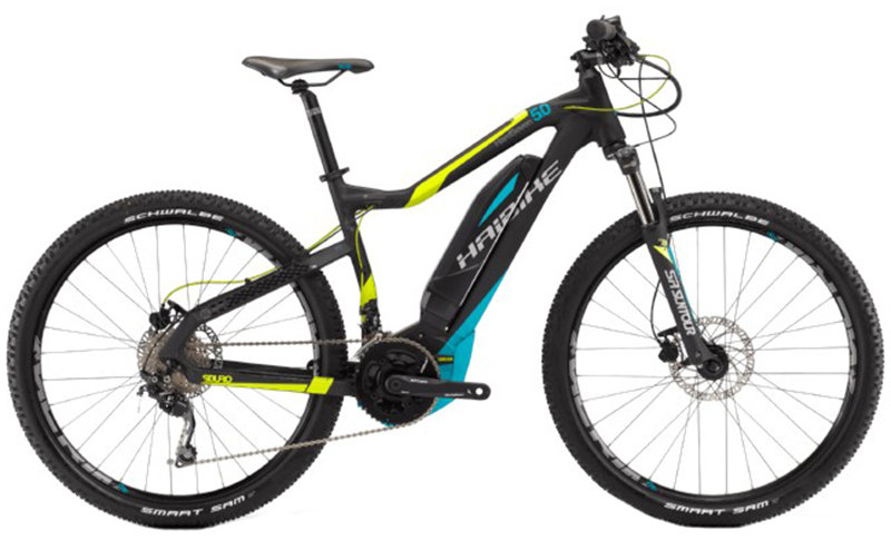 Велосипед Haibike SDURO HARDSEVEN 5.0 27,5 black-lime-blue