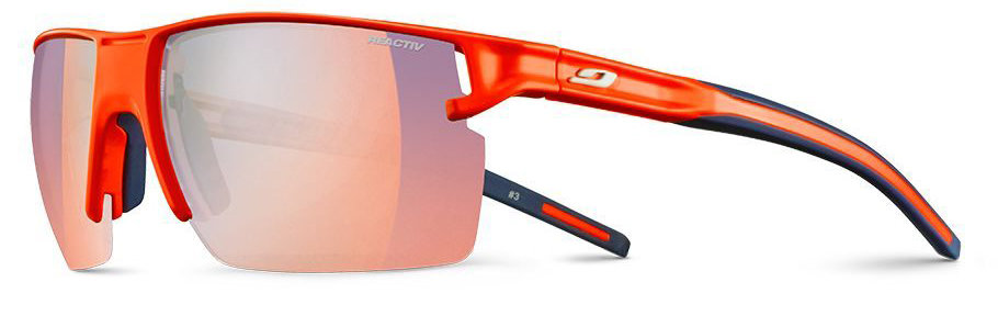 Очки Julbo OUTLINE orange neon-blue Reactiv Zebra Light Fire J5193378