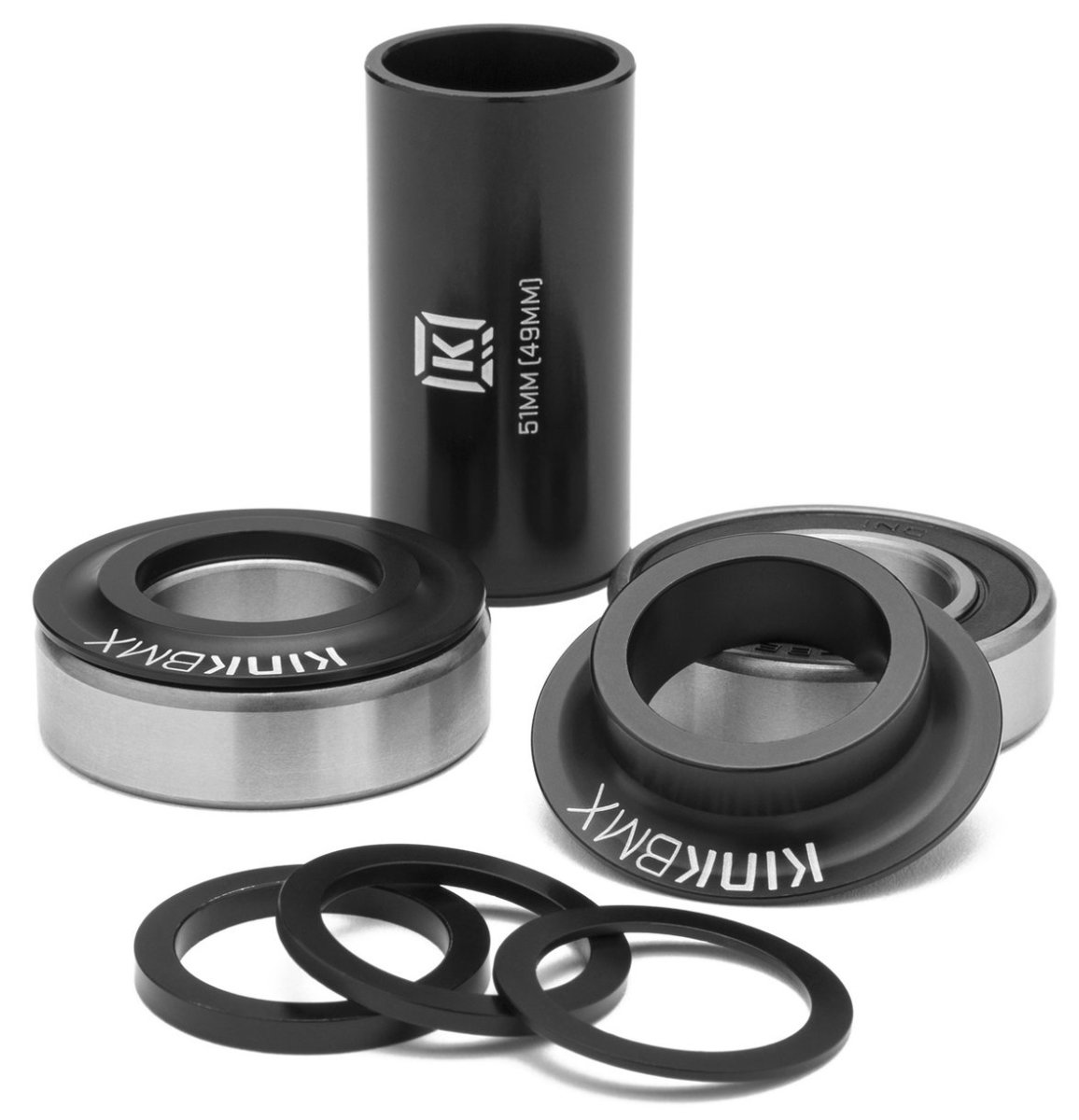 Каретка KINK Mid Bottom Bracket черная K5000-22BKM