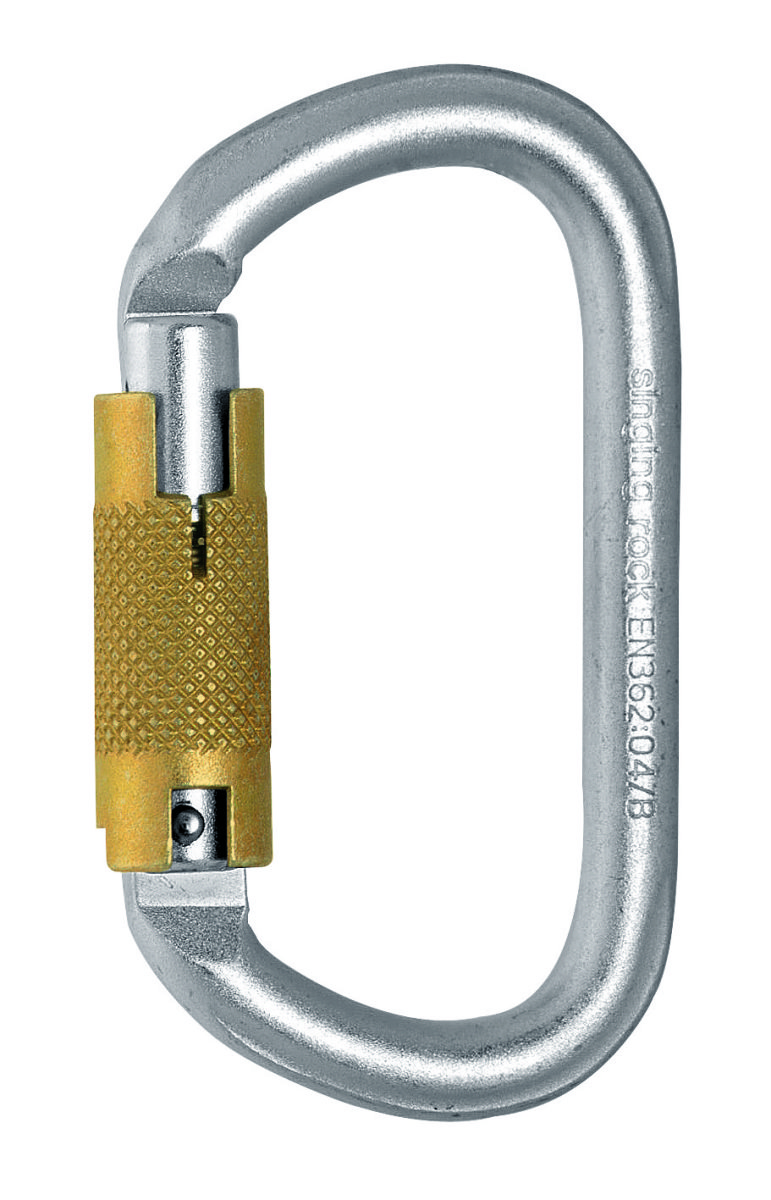 Карабин Singing Rock Keylock Connector Triplelock 30kN SR K4241.ZO-07
