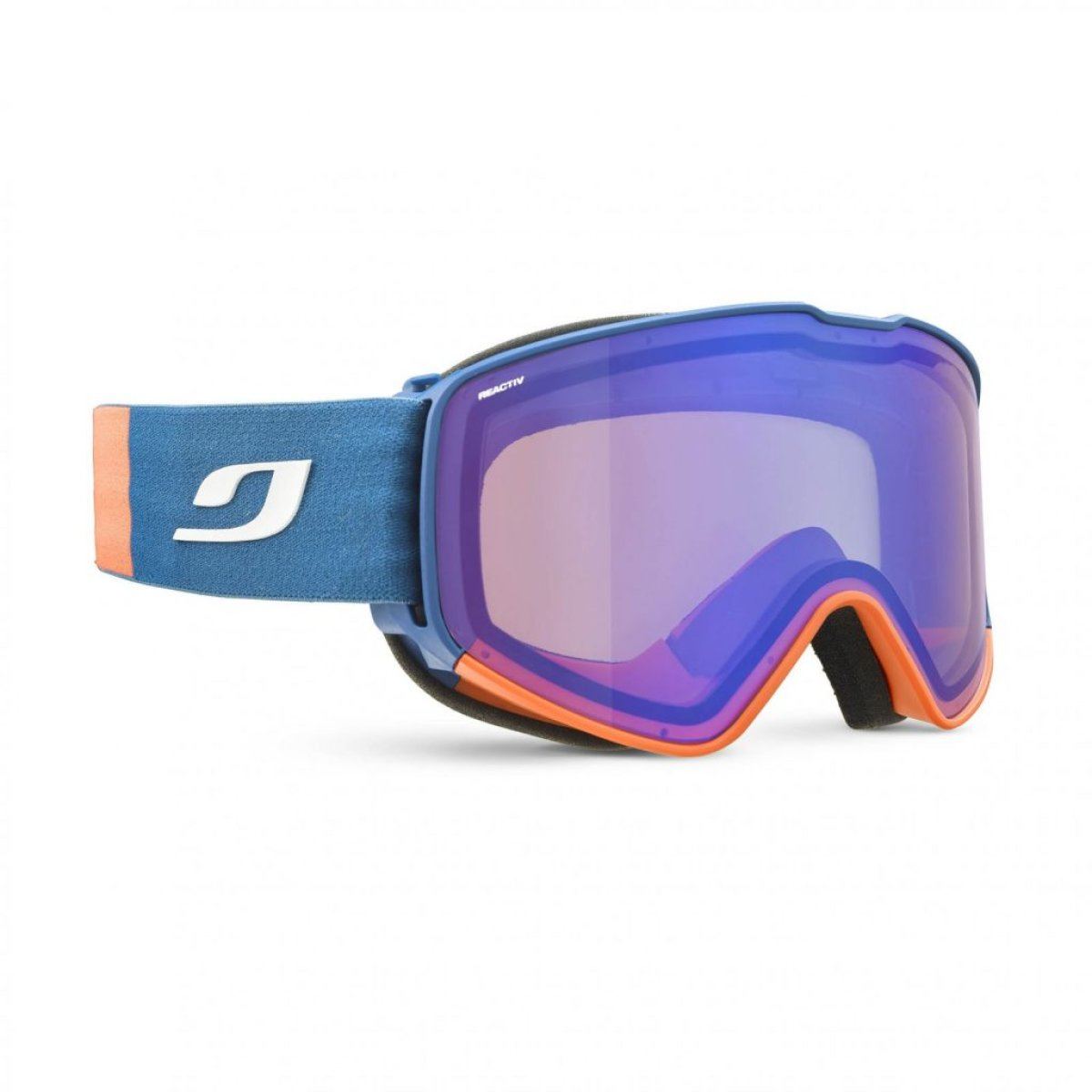 Маска Julbo Cyrius blue/orange ZLR FL blue J75934129