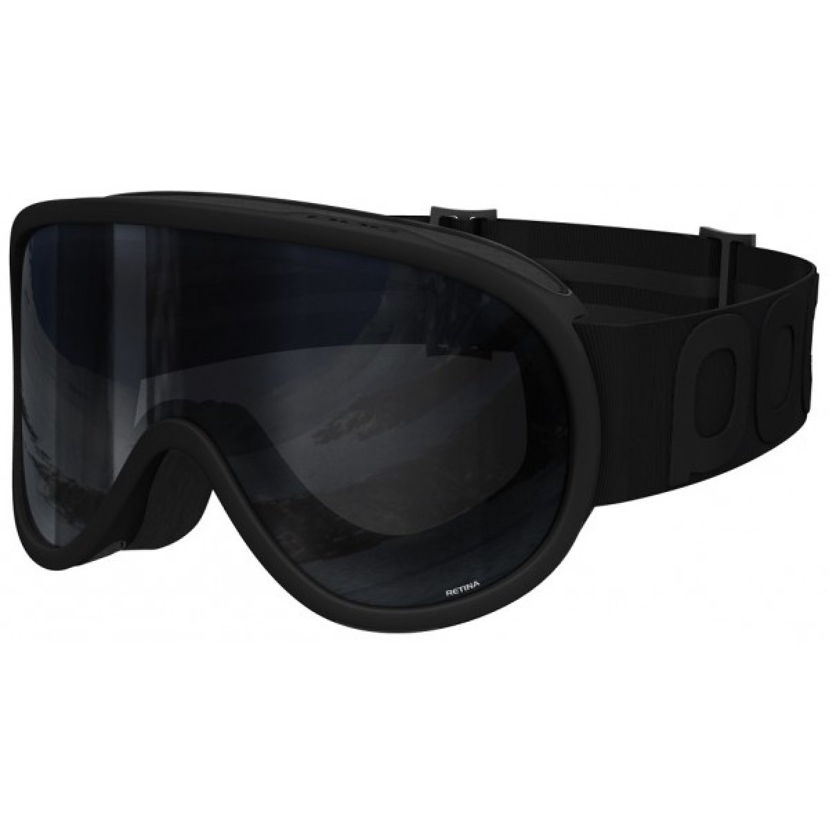 Маска POC Retina All Black Uranium Black