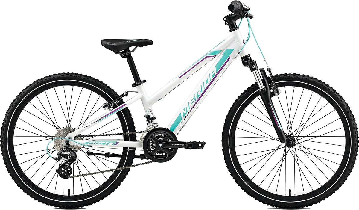 Велосипед Merida MATTS J24 pearl white purple-teal 6110779311